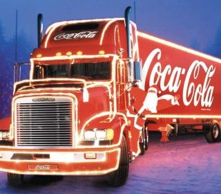 Coca Cola Truck - Obrázkek zdarma pro 128x128