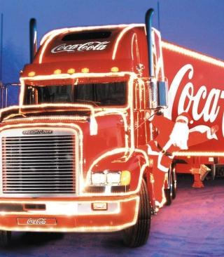 Coca Cola Truck - Obrázkek zdarma pro 320x480