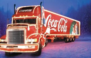 Coca Cola Truck - Obrázkek zdarma pro 1280x720