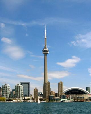 CN Tower in Toronto, Ontario, Canada - Obrázkek zdarma pro Nokia 300 Asha