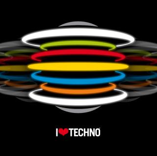 Techno - Obrázkek zdarma pro 1024x1024