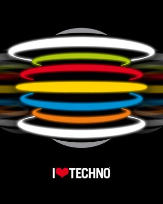 Techno - Obrázkek zdarma pro Nokia Lumia 505