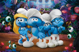 Smurfs The Lost Village Background for Android, iPhone and iPad