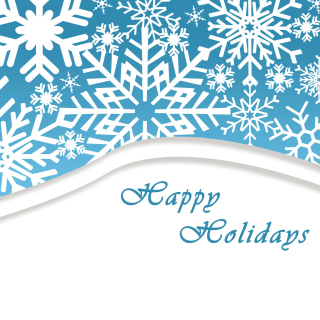 Snowflakes for Winter Holidays - Obrázkek zdarma pro iPad 3