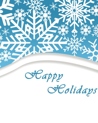 Snowflakes for Winter Holidays - Obrázkek zdarma pro 240x432