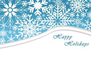 Snowflakes for Winter Holidays - Obrázkek zdarma pro Android 320x480