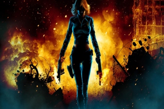 Free Black Widow Avengers Picture for Android, iPhone and iPad