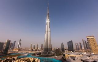 Dubai - Burj Khalifa - Obrázkek zdarma pro 720x320