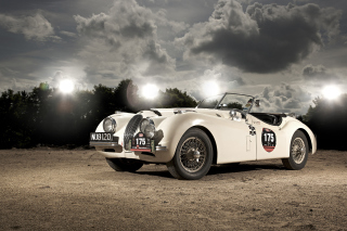 Free Jaguar XK120 Picture for Android, iPhone and iPad