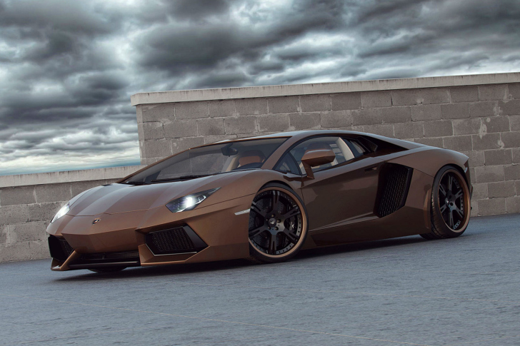 Lamborghini Aventador LP800 wallpaper