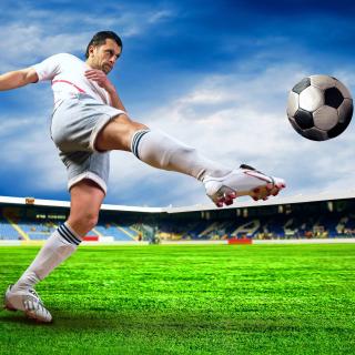 Football Player - Obrázkek zdarma pro iPad Air
