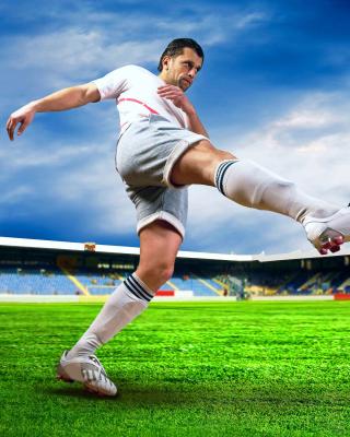 Football Player - Obrázkek zdarma pro 240x400