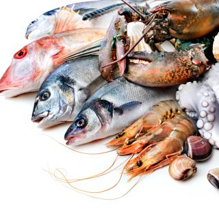 Fresh Seafood - Obrázkek zdarma pro 128x128