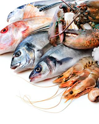 Fresh Seafood - Obrázkek zdarma pro iPhone 5S
