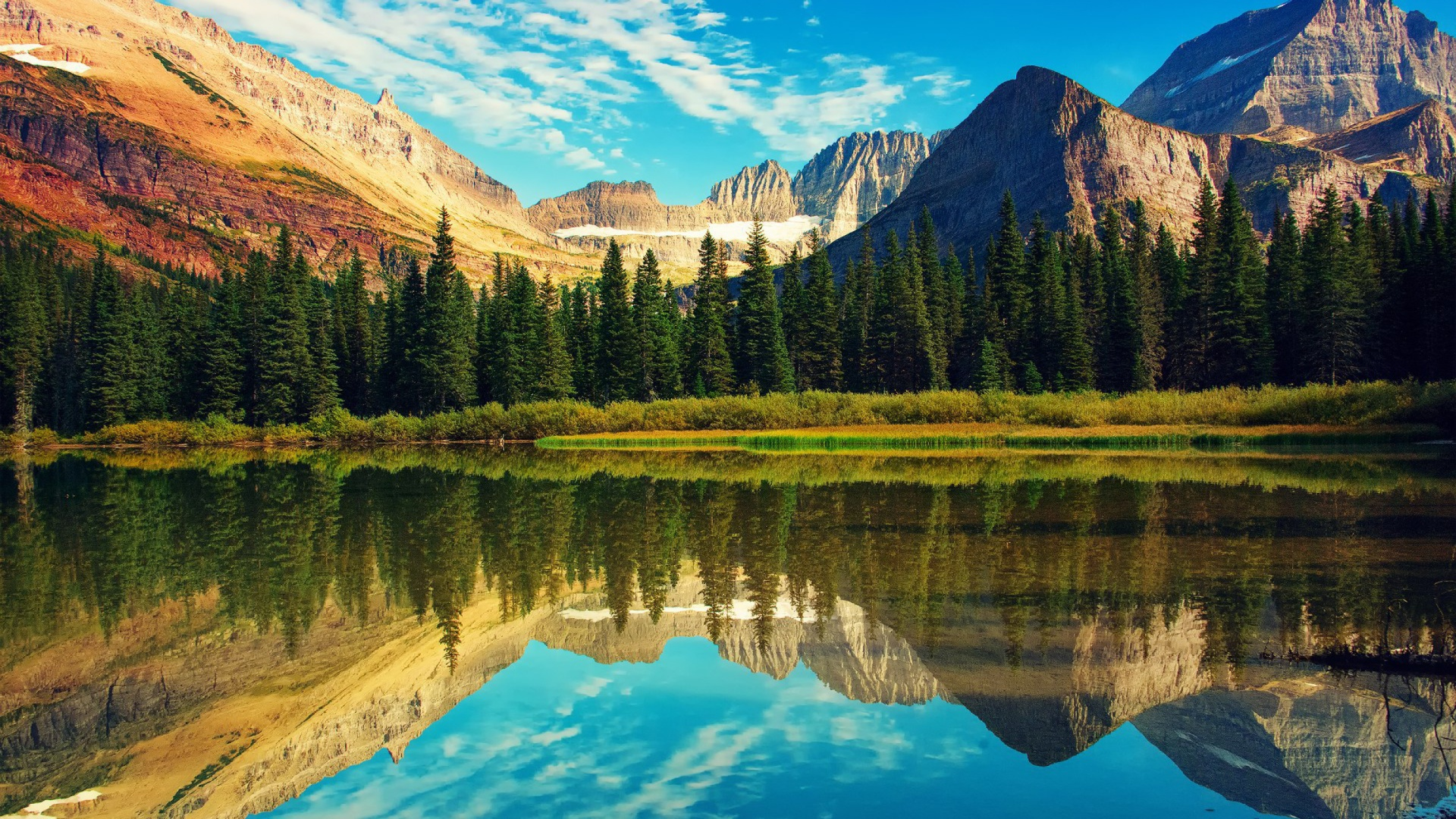 glacier national park in usa wallpaper for desktop