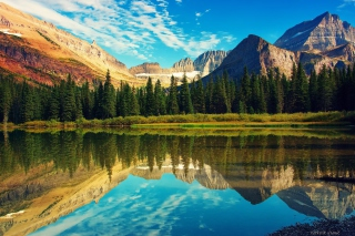 Glacier National Park in USA Picture for Android, iPhone and iPad