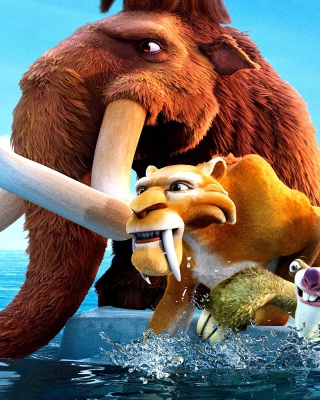 Ice Age 4 - Obrázkek zdarma pro 320x480