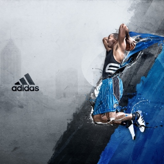 Dwight David Howard - Adidas - Obrázkek zdarma pro 2048x2048