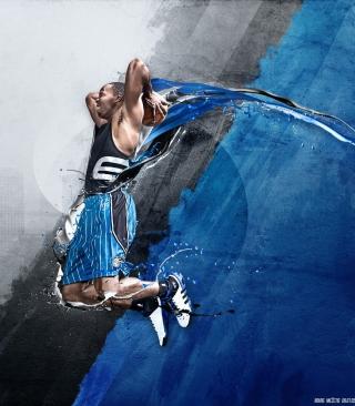 Dwight David Howard - Adidas - Obrázkek zdarma pro 480x800