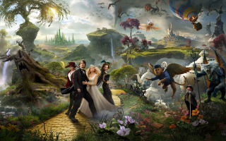 Oz The Great And Powerful 2013 Movie Background for Android, iPhone and iPad