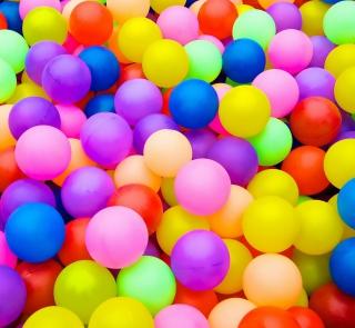 Rainbow Hot Air Balloons - Obrázkek zdarma pro iPad Air