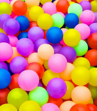 Rainbow Hot Air Balloons - Obrázkek zdarma pro Nokia Asha 300