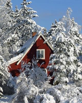 Winter in Sweden - Obrázkek zdarma pro Nokia Lumia 820