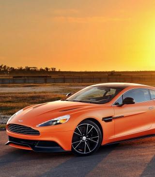 Aston Martin Vanquish - Obrázkek zdarma pro Nokia X7