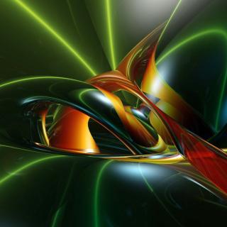 Inspiring Abstract 3D - Obrázkek zdarma pro iPad mini 2