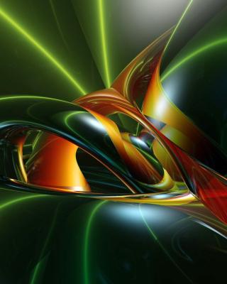 Inspiring Abstract 3D - Obrázkek zdarma pro Nokia Asha 300