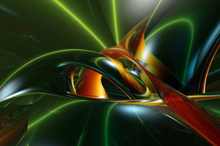 Inspiring Abstract 3D - Fondos de pantalla gratis para LG E400 Optimus L3