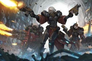 Warhammer40000 Sisters Of Battle Adepta Sororitas - Fondos de pantalla gratis para Motorola Photon 4G