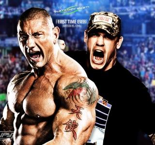 Batista Vs John Cena - Obrázkek zdarma pro 208x208