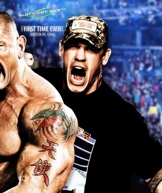 Batista Vs John Cena - Obrázkek zdarma pro 132x176