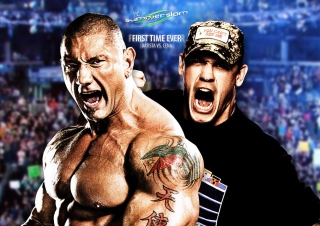 Batista Vs John Cena - Obrázkek zdarma pro Samsung Galaxy S II 4G
