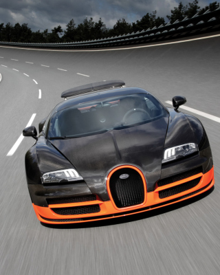 Bugatti Veyron 16-4 - Obrázkek zdarma pro Nokia C-5 5MP