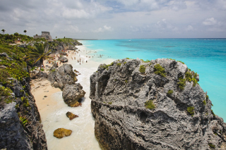 Cancun Beach Mexico Wallpaper for Android, iPhone and iPad