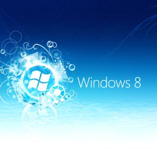 Windows 8 Blue Logo - Obrázkek zdarma pro iPad