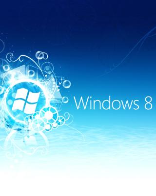 Windows 8 Blue Logo - Obrázkek zdarma pro 128x160