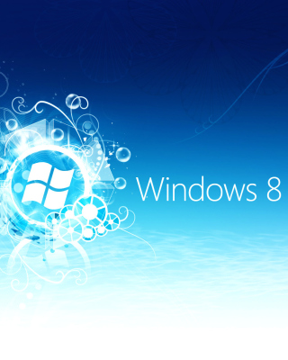 Windows 8 Blue Logo - Obrázkek zdarma pro Nokia Lumia 2520