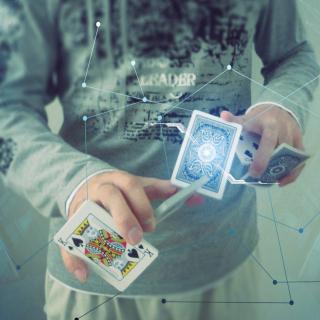 Futuristic Magician - Obrázkek zdarma pro iPad mini 2