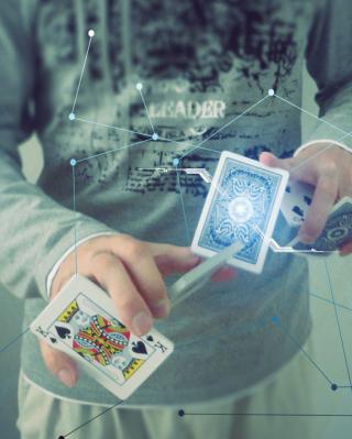 Futuristic Magician - Obrázkek zdarma pro 132x176