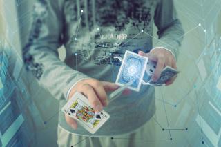 Futuristic Magician - Obrázkek zdarma pro Samsung Galaxy S II 4G