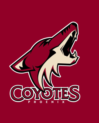 Phoenix Coyotes NHL Team - Obrázkek zdarma pro iPhone 5S