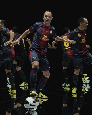 Nike Football Uniform - Obrázkek zdarma pro Nokia Asha 202