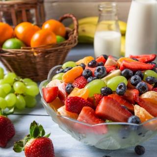 Healthy Berry Dessert - Obrázkek zdarma pro 128x128