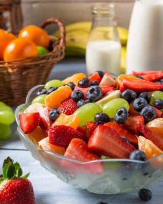 Healthy Berry Dessert - Obrázkek zdarma pro 640x1136