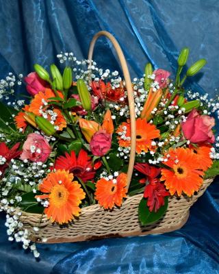 Gerbera Bouquet - Obrázkek zdarma pro 360x480