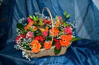 Gerbera Bouquet - Obrázkek zdarma pro 1152x864