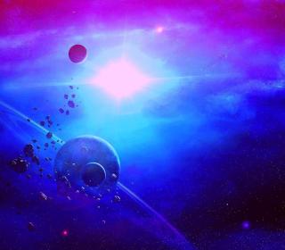 Asteroid - Obrázkek zdarma pro iPad Air